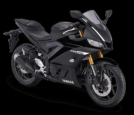 Yamaha R25 terbaru hitam