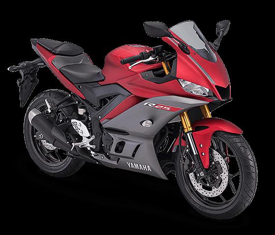 Yamaha R25 terbaru merah