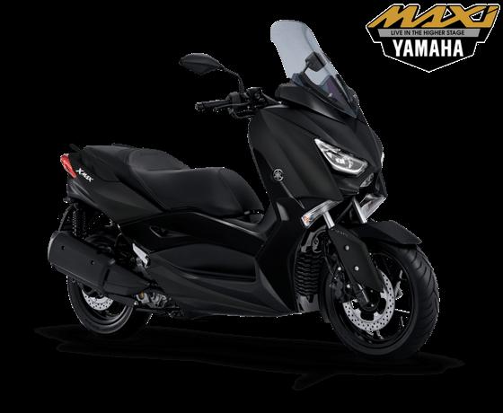 yamaha x max terbaru warna hitam