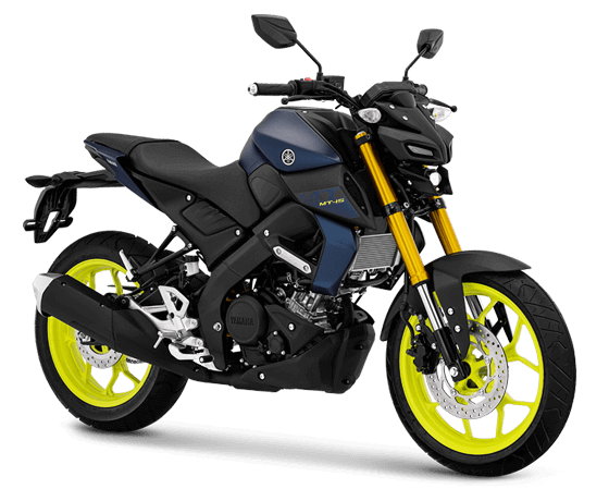 Yamaha MT 15 Biru