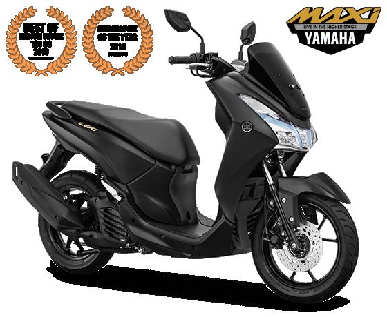 Yamaha Lexi Gold Emblem Black
