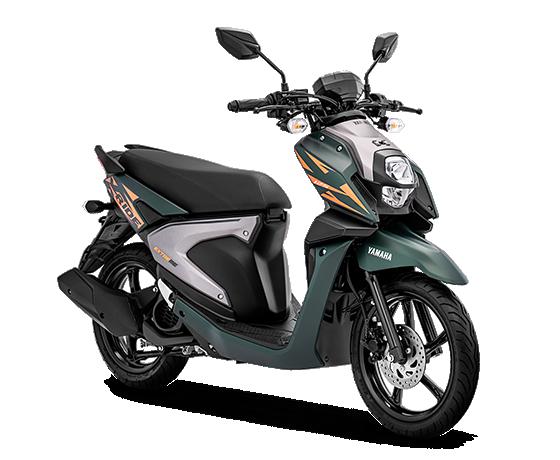 Yamaha Xride Hijau