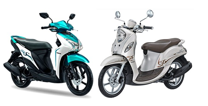 Inilah perbandingan yamaha fino 125 vs Yamaha Mio S. Anda Tim mana?