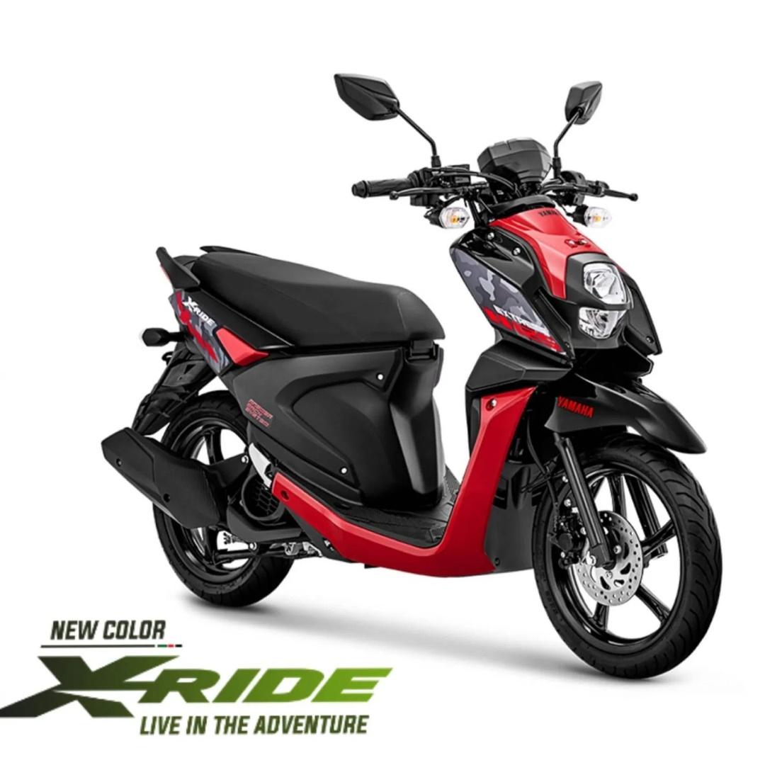 X-Ride, Salah Satu Motor Terlaris di Dealer Yamaha Jakarta Selatan